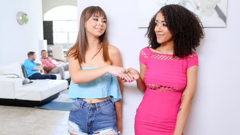 The Daddy Swap Pt.2  (Arianna Aimes And Shae Celestine – DaughterSwap)