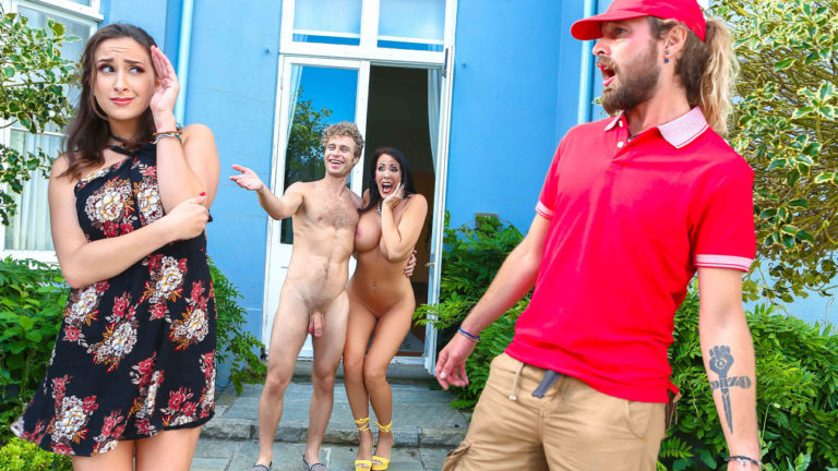 Meet The Nudists Part 2 (Ashley Adams, Michael Vegas & Reagan Foxx – Digital Playground)